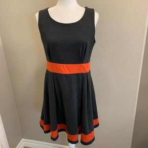 Anthropologie Mystree Color Block Dress